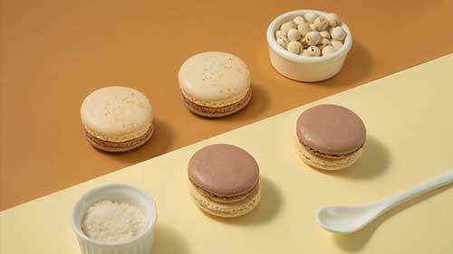 Một vài gợi ý cho Macaron hoa quả